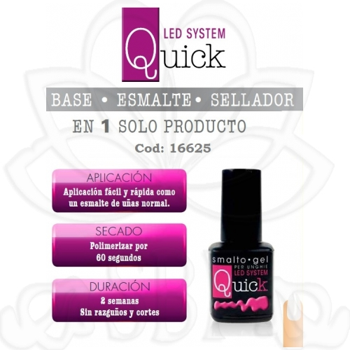 ESMALTE PERMANENTE QUICK 16625 8ML.