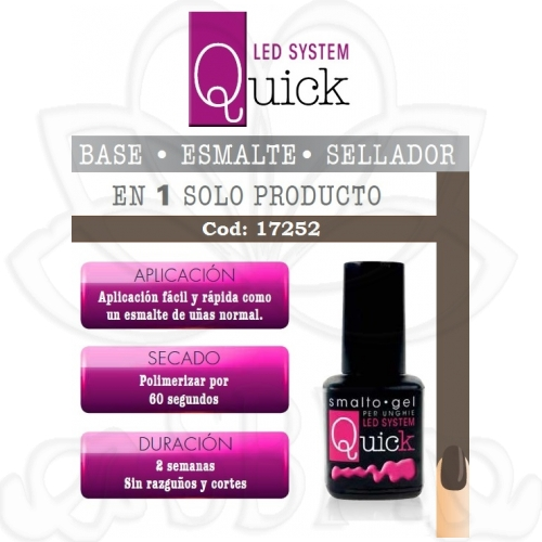ESMALTE PERMANENTE QUICK 17252 8ML.