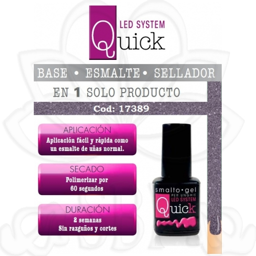 ESMALTE PERMANENTE QUICK 17389 8ML.