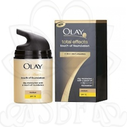 OLAY TOTAL EFFECT TOUCH MEDIUM 50ML.