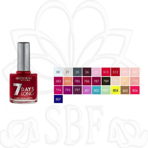 ESMALTE DE UOAS 7DAYS LONG N.786