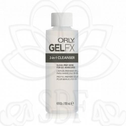 ORLY GEL FX 3 EN 1 CLEANSER 118 ML.