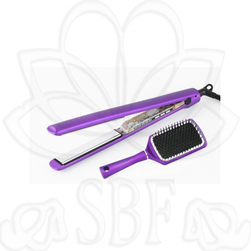 PLANCHA C3 ETHNIC METALLIC PURPLE SOFT-TOUCH