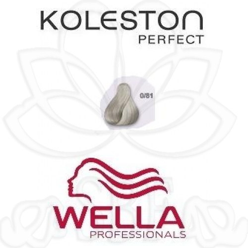 TINTE KOLESTON WELLA Nº0/81  60ML.