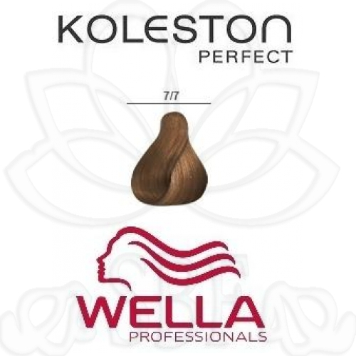 TINTE KOLESTON WELLA Nº7/7  60ML.