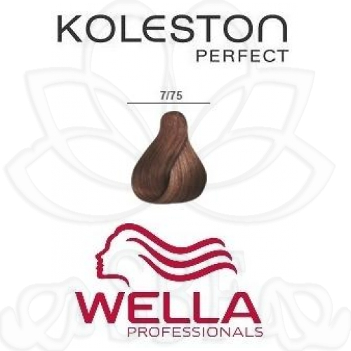 TINTE KOLESTON WELLA Nº7/75  60ML.