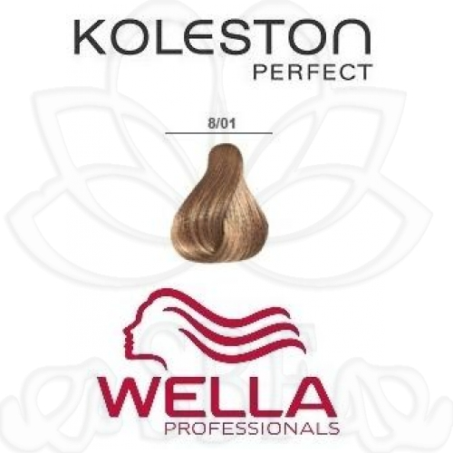 TINTE KOLESTON WELLA Nº8/01  60ML.