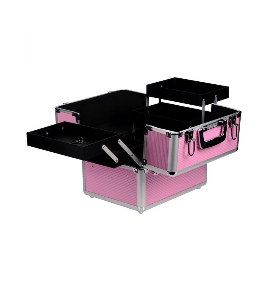 Carrito Trolley Beauty Box Rosa Probel Superbeauty Factory # Muebles Para Estetica Wella