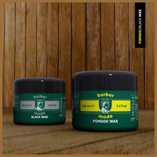 CERA POMADE WAX BARBER 100ML.