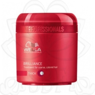 BRILLIANCE(WELLA)MASCARILLA CAB.COLOR GRUESO 150ML