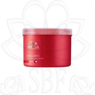 BRILLIANCE(WELLA)MASCARILLA CAB.COLOR GRUESO 500ML