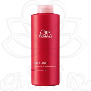 BRILLIANCE(WELLA)CHAMPU CAB. COLOR FINO 1L.