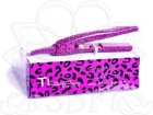 MINI PLANCHA PURPLE LEOPARD TI CREATIVE